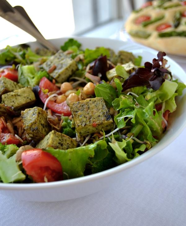 salade met tofoe ©groeneprinses