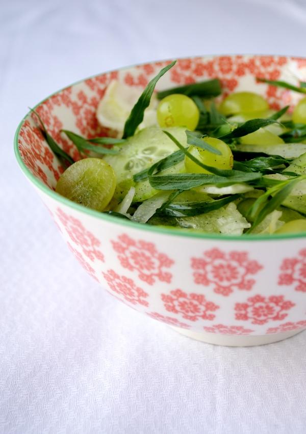 venkel-komkommersalade ©Groene Prinses