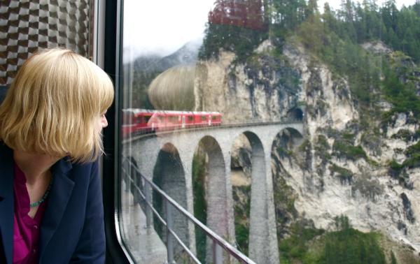 op de Bernina Express ©Groene Prinses