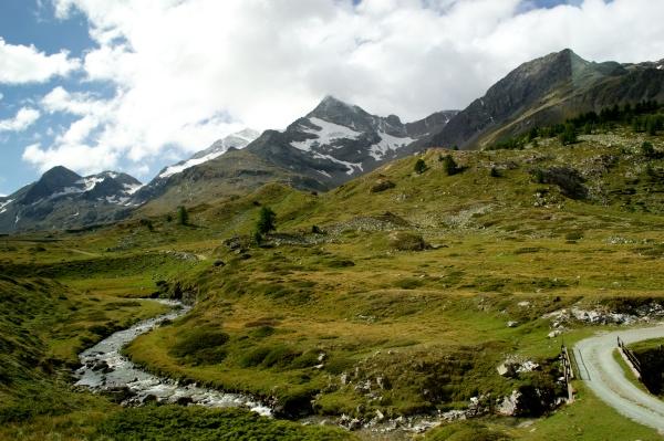 zicht uit de Bernina Express ©Groene Prinses