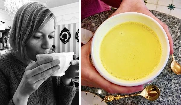 turmeric latte Groene Prinses